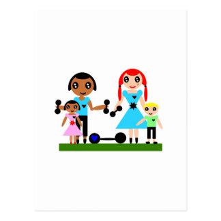 Cartão Postal As mães podem levantar