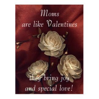 Cartão Postal As mães são como namorados…