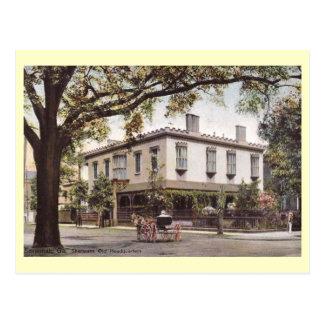 Cartão Postal As matrizes de Sherman, savana, vintage de Geórgia