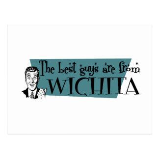 Cartão Postal As melhores caras são de Wichita