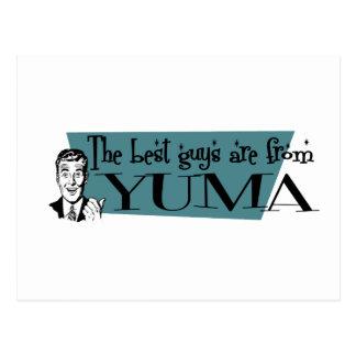 Cartão Postal As melhores caras são de Yuma