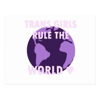 Cartão Postal As meninas do transporte ordenam o mundo (v1)