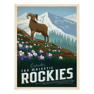 Cartão Postal As montanhas rochosas | Colorado