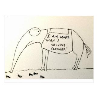 Cartão Postal As ofertas do porco-da-terra
