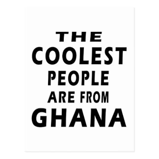 Cartão Postal As pessoas as mais frescas são de Ghana