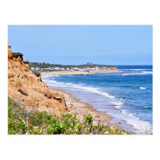 Cartão Postal As praias rochosas de Montauk, Long Island, NY