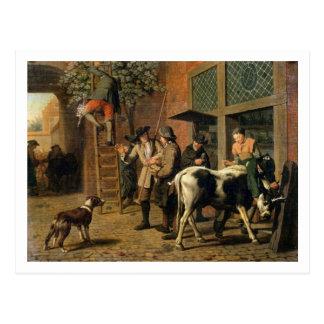 Cartão Postal As quatro estações, outono (óleo em canvas) (veja