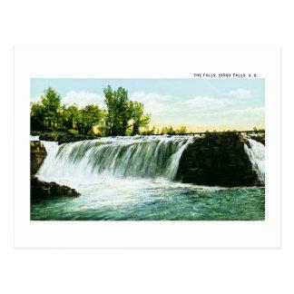 Cartão Postal As quedas, Sioux Falls, South Dakota