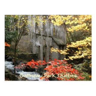 Cartão Postal As ruínas de Willson, Quebeque