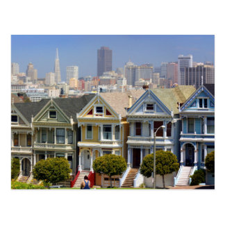 Cartão Postal As senhoras pintadas famosas de San Francisco
