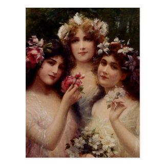 Cartão Postal As três benevolências - Émile Vernon