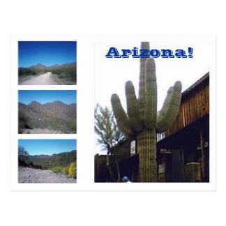 Cartão Postal As vistas da arizona!