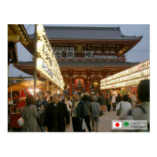 Cartão Postal Asakusa Temple Gate