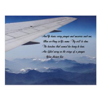 Cartão Postal Asas da oração - vista aérea de Formosa