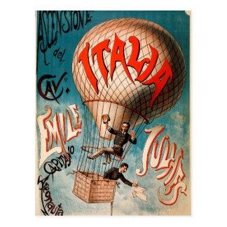 Cartão Postal Ascensão de Cav. Emile Julhes…