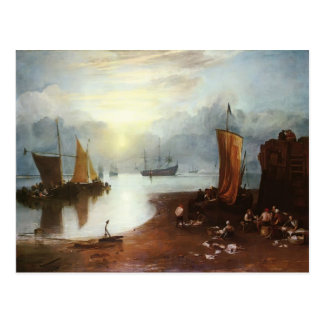Cartão Postal Ascensão de William Turner Sun com Vagour