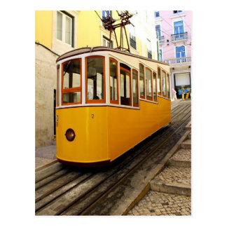 Cartão Postal Ascensor da Bica, Lisboa, Portugal