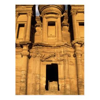 Cartão Postal Ásia, Jordão, PETRA. EL Deir, o monastério