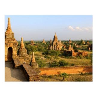 Cartão Postal Ásia, Myanmar (Burma), Bagan (Pagan). Vário