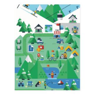 Cartão Postal Aspen Colorado