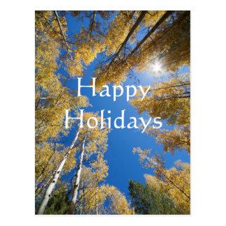 Cartão Postal Aspen toda ao redor, boas festas