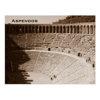 Cartão Postal Aspendos