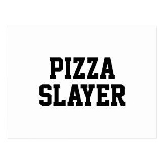 Cartão Postal Assassino da pizza