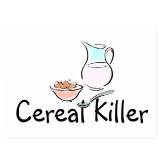 Cartão Postal Assassino do cereal
