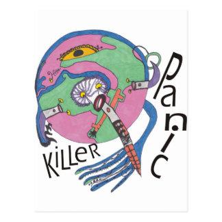 Cartão Postal Assassino do pânico