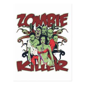 Cartão Postal Assassino do zombi