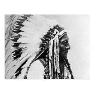 Cartão Postal Assento Bull, um Hunkpapa Sioux