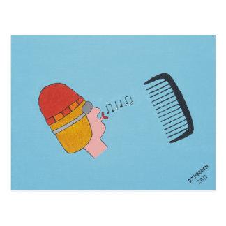 Cartão Postal Assobiador Blackcomb