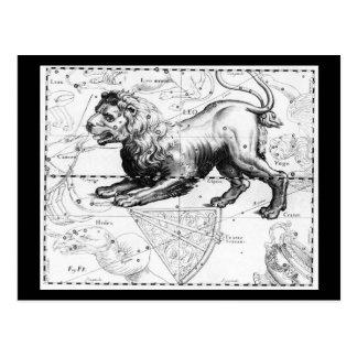 Cartão Postal Astrologia do Cartão-Vintage/Divination-2