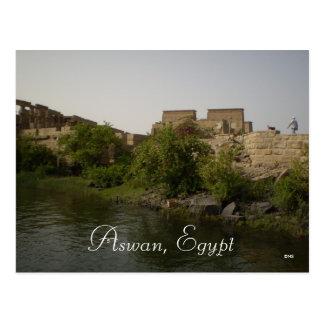 Cartão Postal Aswan, Egipto