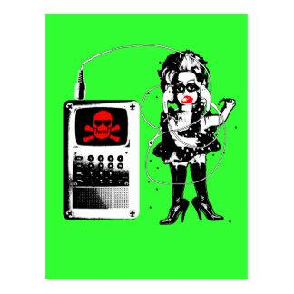 Cartão Postal Ataque das Techno-Bobas!!!