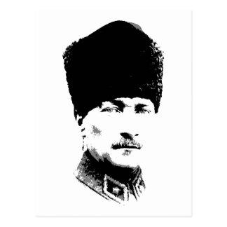 Cartão Postal Ataturk