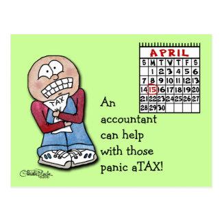 Cartão Postal aTAX do pânico!