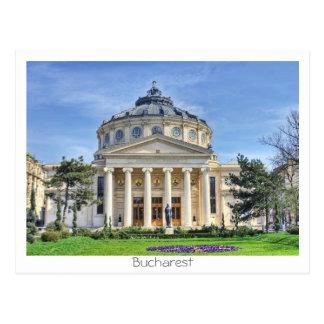 Cartão Postal Atheneum romeno