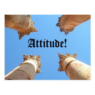 Cartão Postal Atitude, atitude!