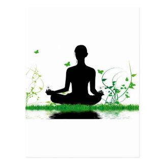 Cartão Postal atitude zen