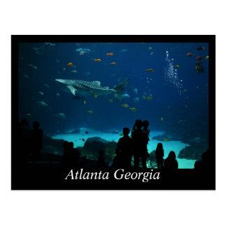 Cartão Postal Atlanta Geórgia