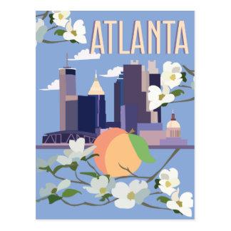 Cartão Postal atlantatravelposter