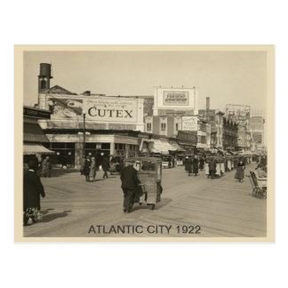 Cartão Postal Atlantic City 1922