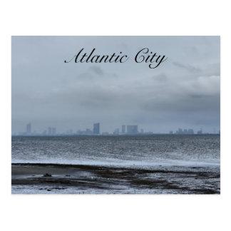 Cartão Postal Atlantic City de longe