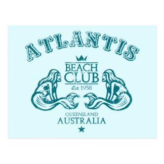 Cartão Postal Atlantis