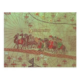 Cartão Postal Atlas Catalan, exibição do detalhe
