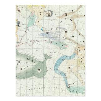 Cartão Postal Atlas celestial 3