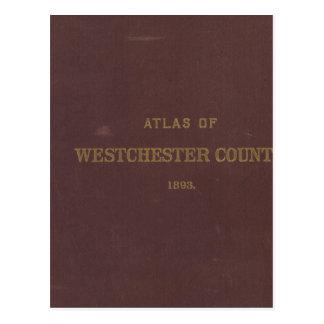 Cartão Postal Atlas Westchester Co, NY