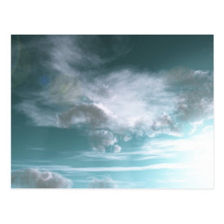 Cartão Postal Atmosfera estrangeira