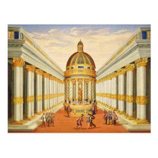 Cartão Postal Ato mim, cenas VII e VIII: O templo de Baccus